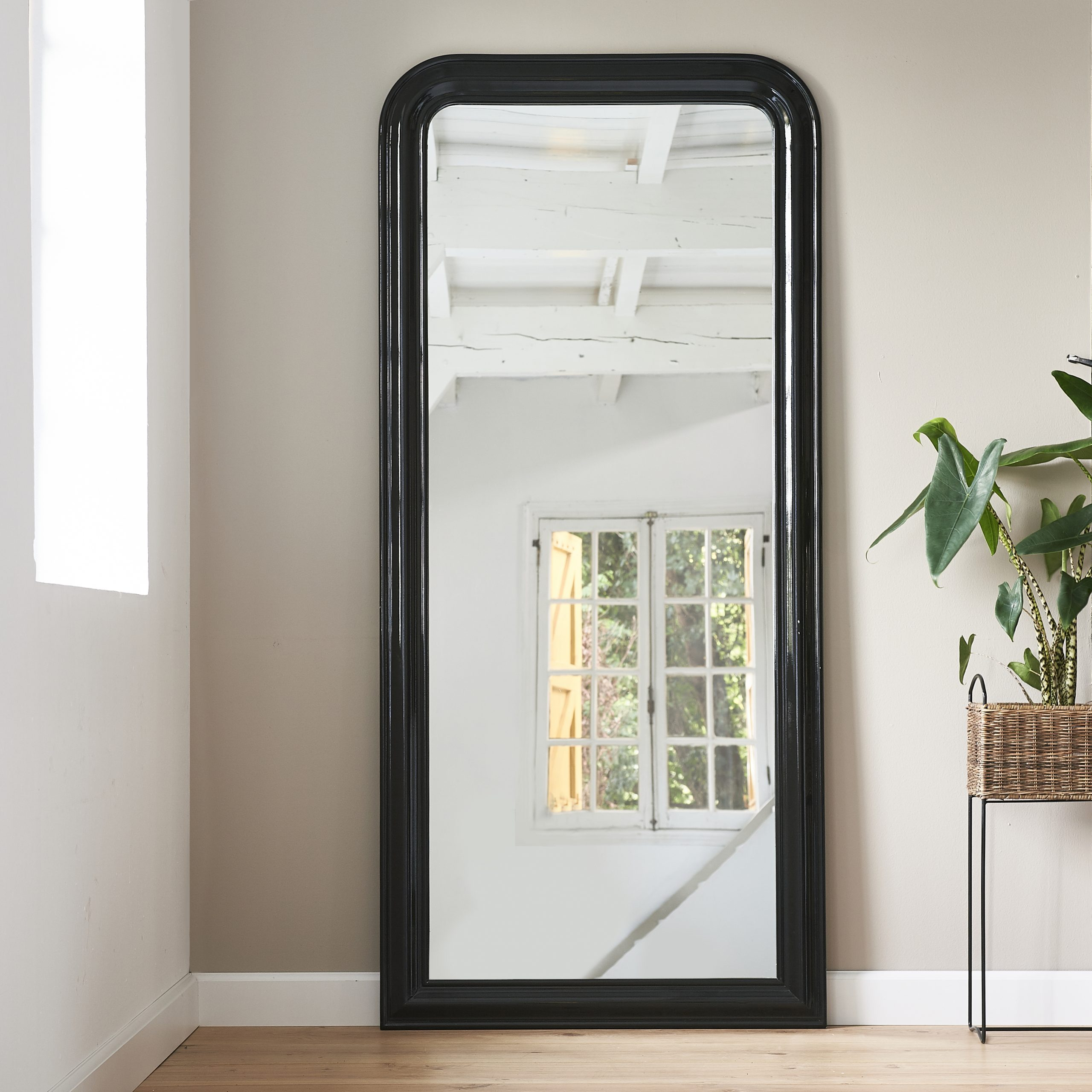 Place Vendôme Mirror 100×220 Black