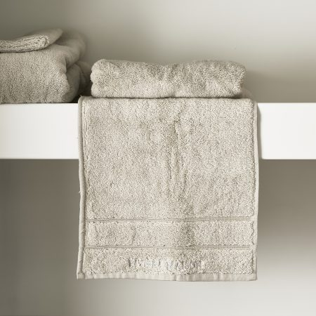 466820 RM Hotel Guest Towel stone 50x30 Riviera Maison Eindhoven