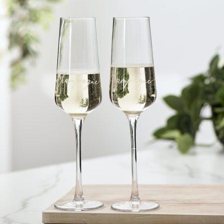 Champagne Glass 2 pcs riviera maison