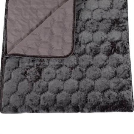Bedsprei Velvet Donna Antra 170 x 220cm