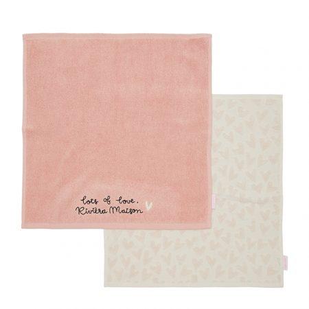 476710 Lots Of Love Kitchen Towel 2 pieces Riviera Maison Eindhoven