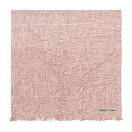 477170 Boho Basic Napkin veiled rose Riviera Maison Eindhoven