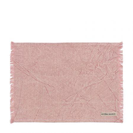 477230 Boho Basic Placemat veiled rose Riviera Maison Eindhoven