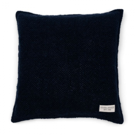 480130 Rough Linen Pillow Cover blue Riviera Maison Eindhoven