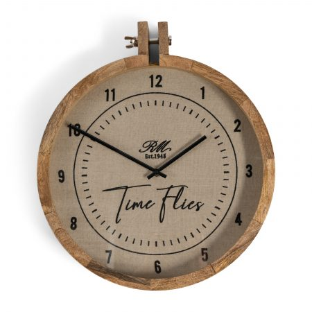 482050 RM Time Flies Wall Clock Riviera Maison Eindhoven