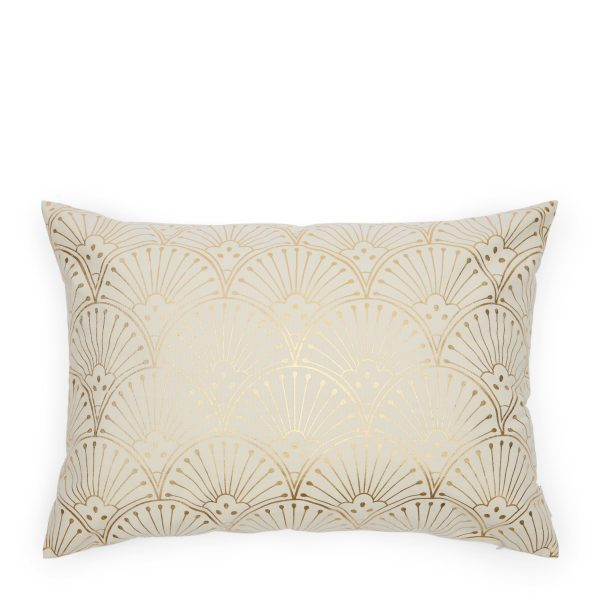 476010 Enchanting Gold Pillow Cover 65x45 Riviera Maison Eindhoven