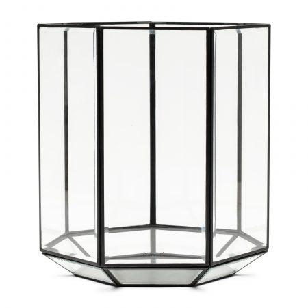 482290 RM French Glass Hurricane black Riviera Maison Eindhoven