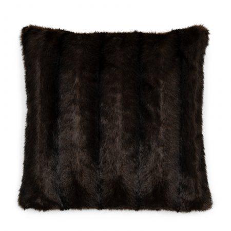 490040 Vintage Faux Fur Pillow Cover 50x50 Riviera Maison Eindhoven