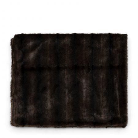 490060 Vintage Faux Fur Throw 170x130 Riviera Maison Eindhoven
