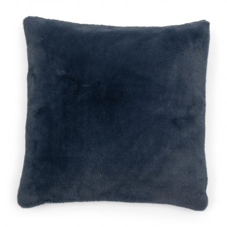 490090 Faux Fur Pillow Cover petrol 50x50 Riviera Maison Eindhoven