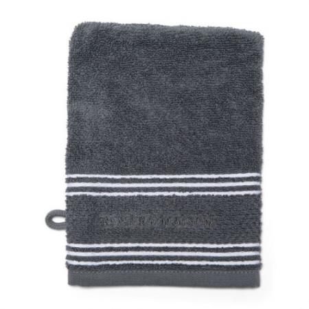 492250 Serene Washcloth anthracite Riviera Maison Eindhoven