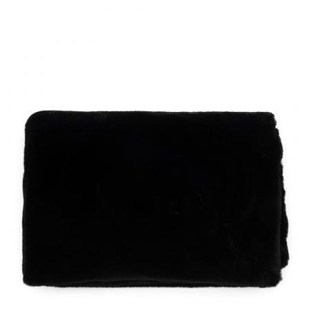 490740 Faux Fur Throw black 170x130 Riviera Maison Eindhoven