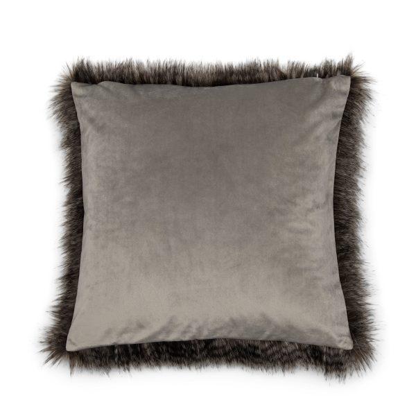 490770 Lowe Faux Fur Pillow Cover 50x50 Riviera Maison Eindhoven