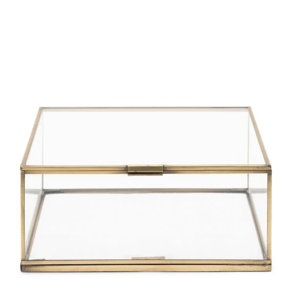 492810 Provence French Glass Box 25x25 Riviera Maison Eindhoven